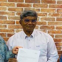 荣誉主教 DR. Solomon Rajah 前马来西亚福音信义会主教以及前马来西亚神学院董事主席